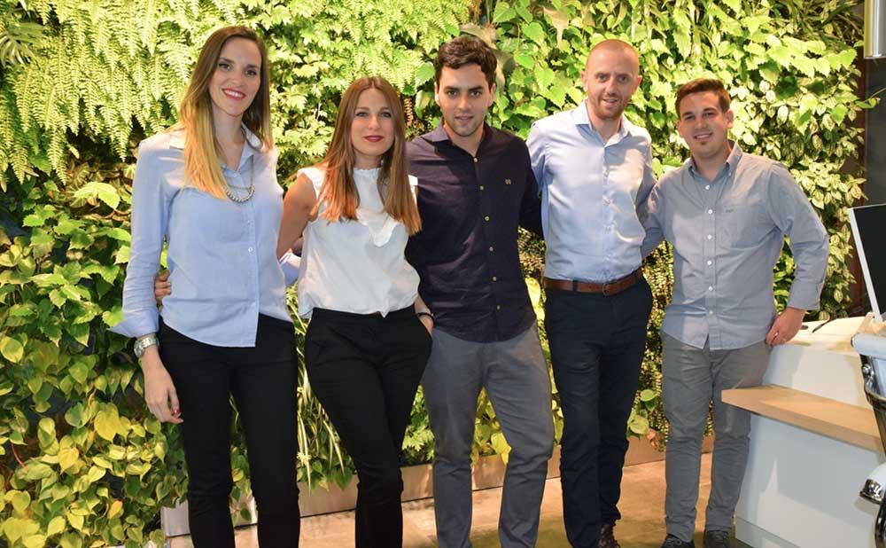 El equipo de Barón: libertad y creatividad con fuerza joven (nota Clarín 2016)